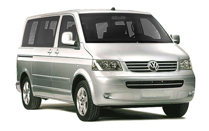 Book a -  VW Transporter 9 Seats